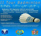Il tour badminton 30 agosto 2014