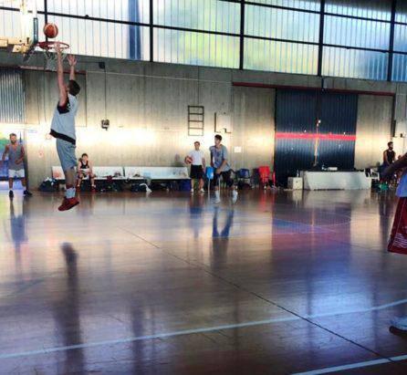 Allenamento Basket Lecco agosto 2016