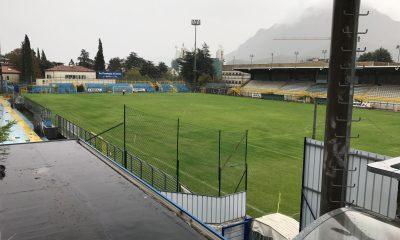 """Lo Stadio """"Rigamonti-Ceppi"""" di via Don Pozzi, casa della Calcio Lecco 1912"""