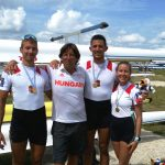 """La Canottieri Moto Guzzi conquista il Mondiale nel """"Due con"""" grazie ai suoi atleti ungheresi"""