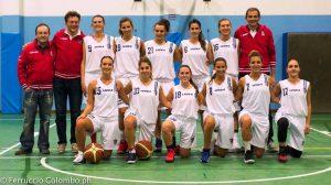 foto basket femminile esordio Dalmine