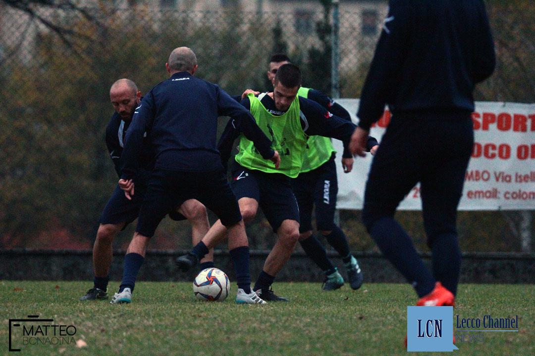 """Marco Moleri in azione al centro sportivo """"Rio Torto"""""""