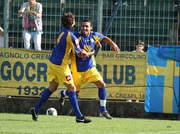 Samon Reider Rodríguez con la maglia della Pergolettese