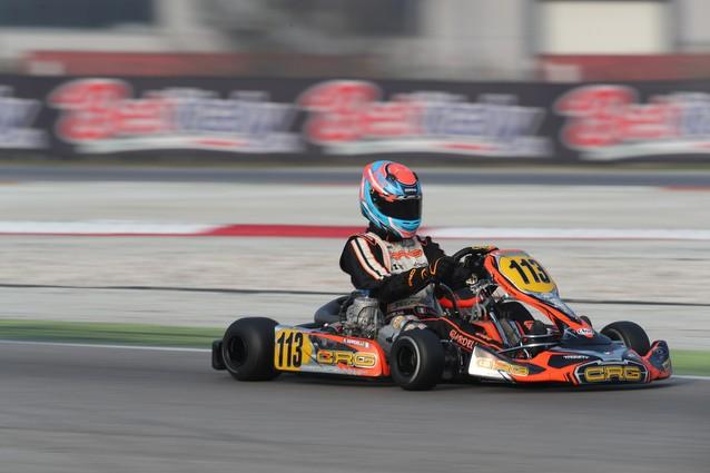 Alessandro Giardelli in gara ad Adria