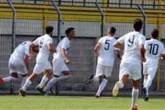 Calcio-Lecco-Pontisola-2016-Esultanza-Parravicini