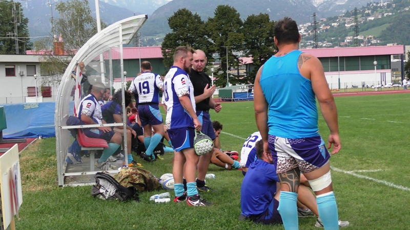 Rugby Lecco Locatelli panca
