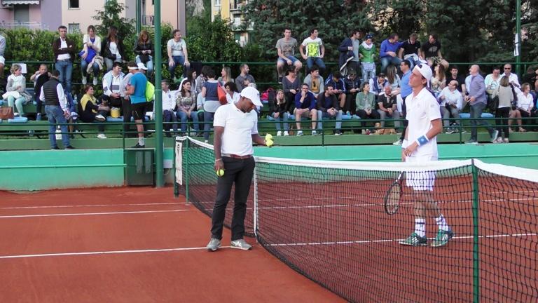 Tennis Frigerio arbitro