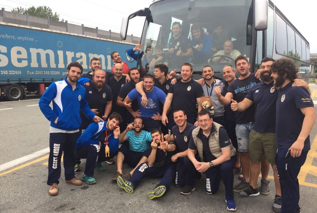 Rugby Lecco pullman