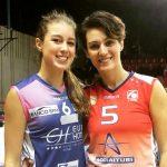 La storia   Ester Franco e la figlia Giada, avversarie per una partita