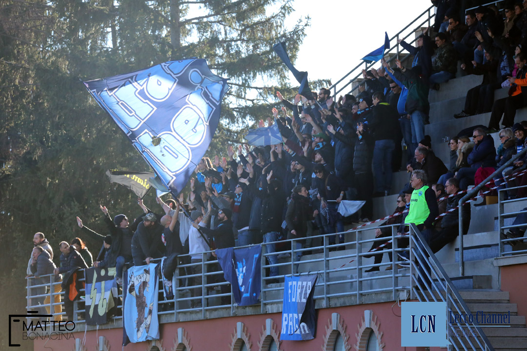 Calcio Lecco Pontisola campionato Serie D 2018 Tifosi (15)