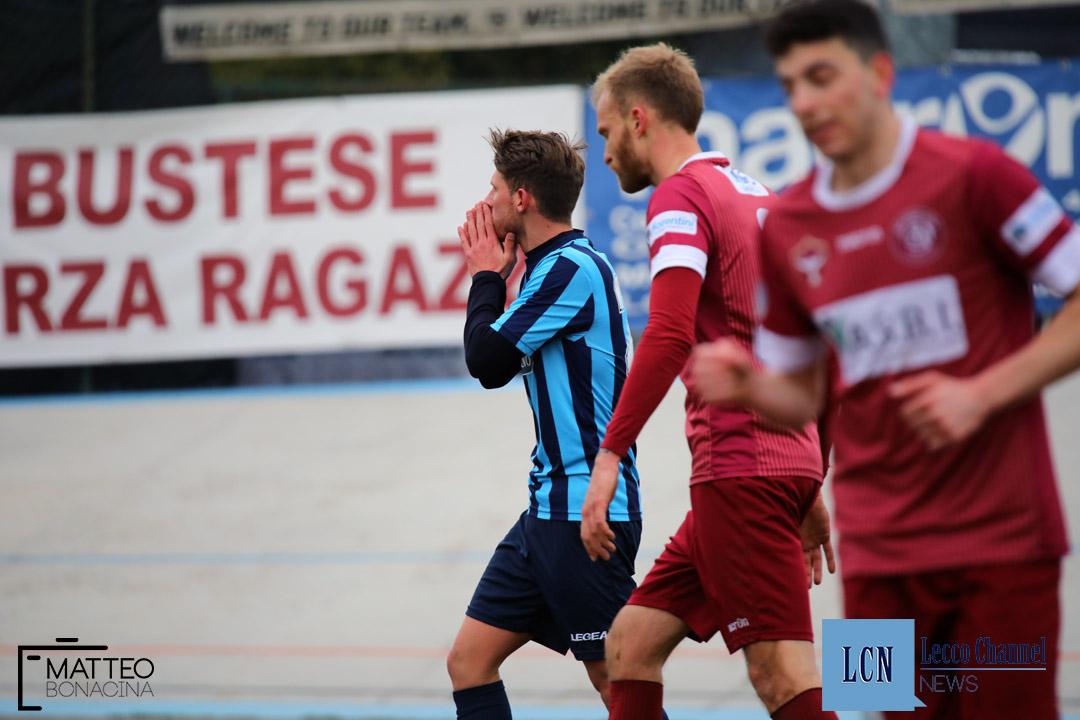 Calcio Lecco Bustese Campionato Serie D 2018 Draghetti delusione (23)