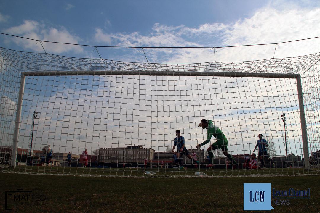 Calcio Lecco Caravaggio Campionato Serie D 2018 Retro Porta Nava (2)