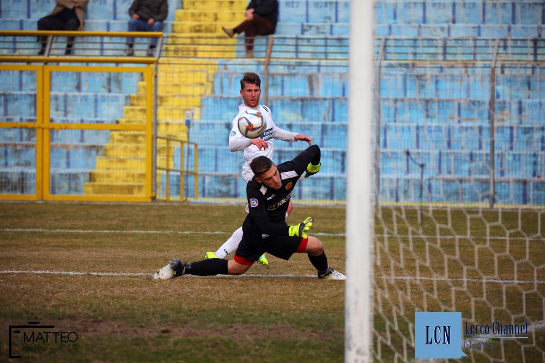 Calcio Lecco Scanzorosciate Campionato Serie D 2018 Draghetti gol (6)