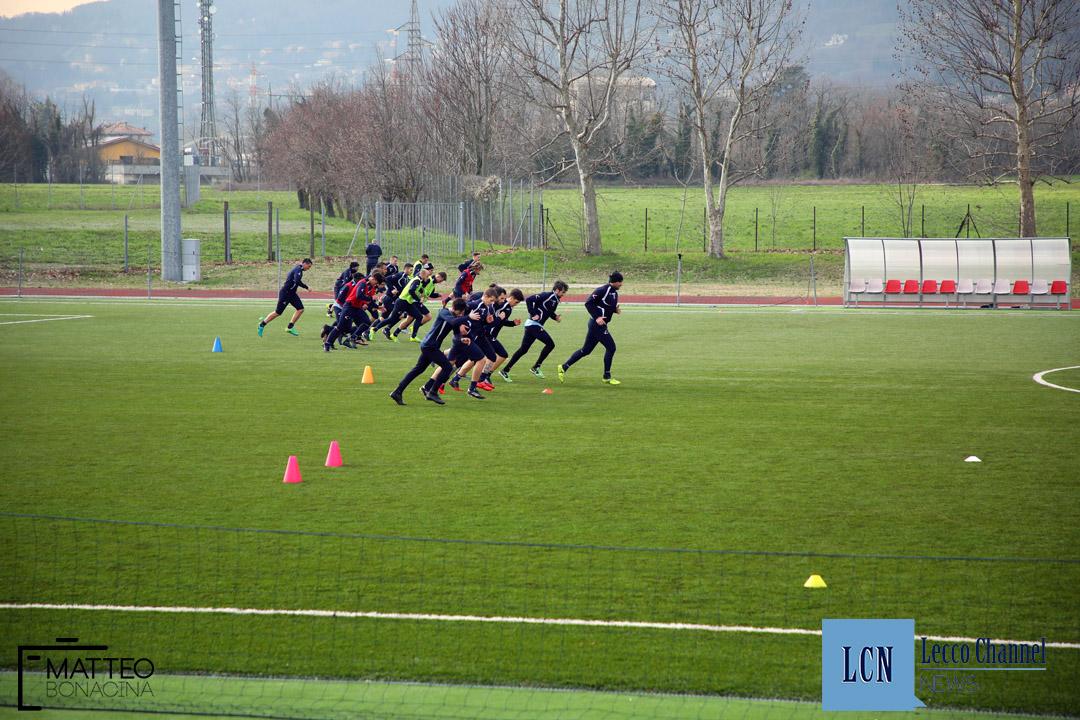 Calcio Lecco Allenamento Serie D 2018