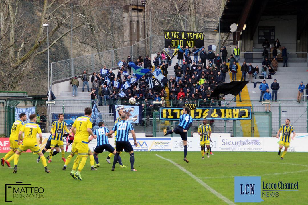 Calcio Lecco Trento Campionato Serie D 2018 Tifosi (7)
