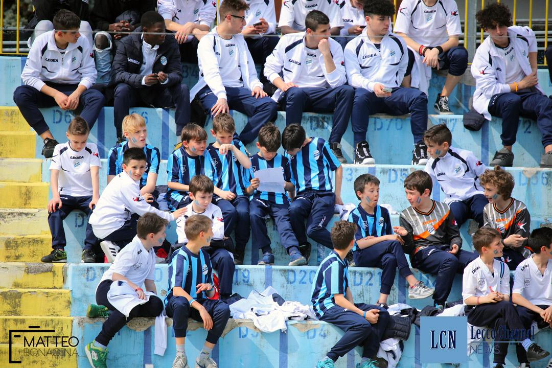 Calcio Lecco Darfo Boario Serie D Campionato 2018 Bambini Settore Giovanile (10)