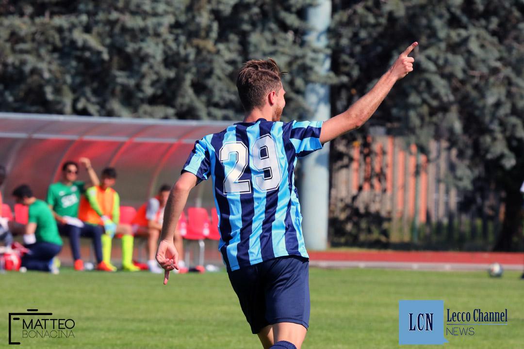 Rezzato Calcio Lecco Serie D 2018 Draghetti Esultanza