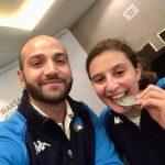 Sofia Brunati medaglia d'argento ai Mondiali Under 23 di sciabola