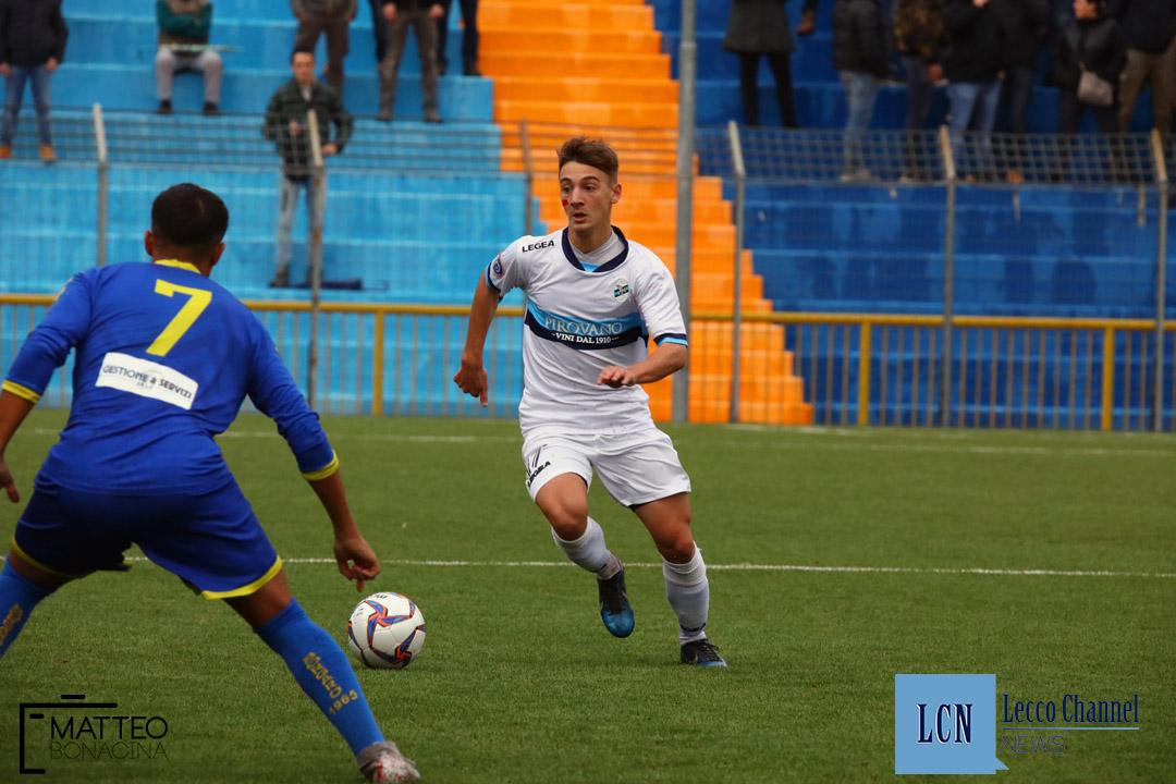Calcio Lecco Borgaro Nobis Campionato Serie D 24 Novembre 2018 (10) corna