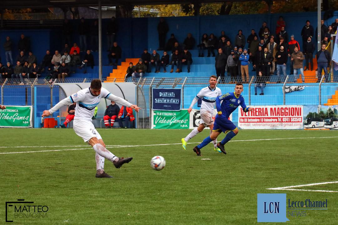 Calcio Lecco Borgaro Nobis Campionato Serie D 24 Novembre 2018 (19) capogna