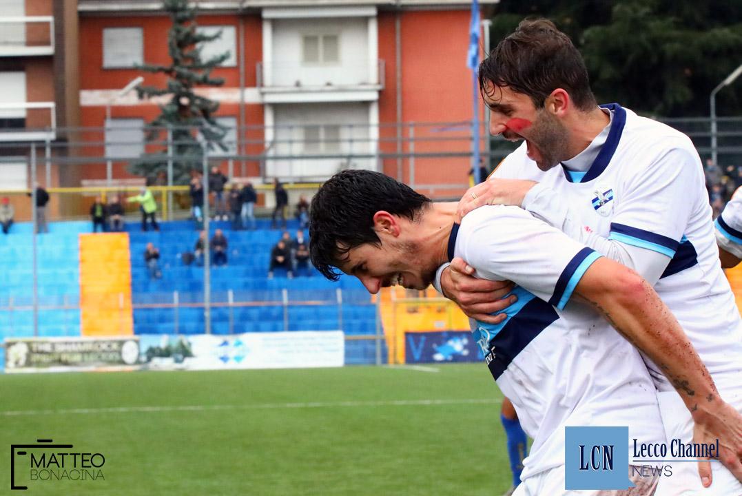 Calcio Lecco Borgaro Nobis Campionato Serie D 24 Novembre 2018 (22) merli sala capogna