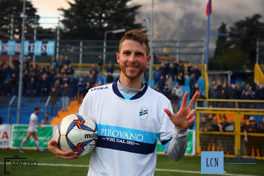 Calcio Lecco Borgaro Nobis Campionato Serie D 24 Novembre 2018 draghetti (48) draghetti