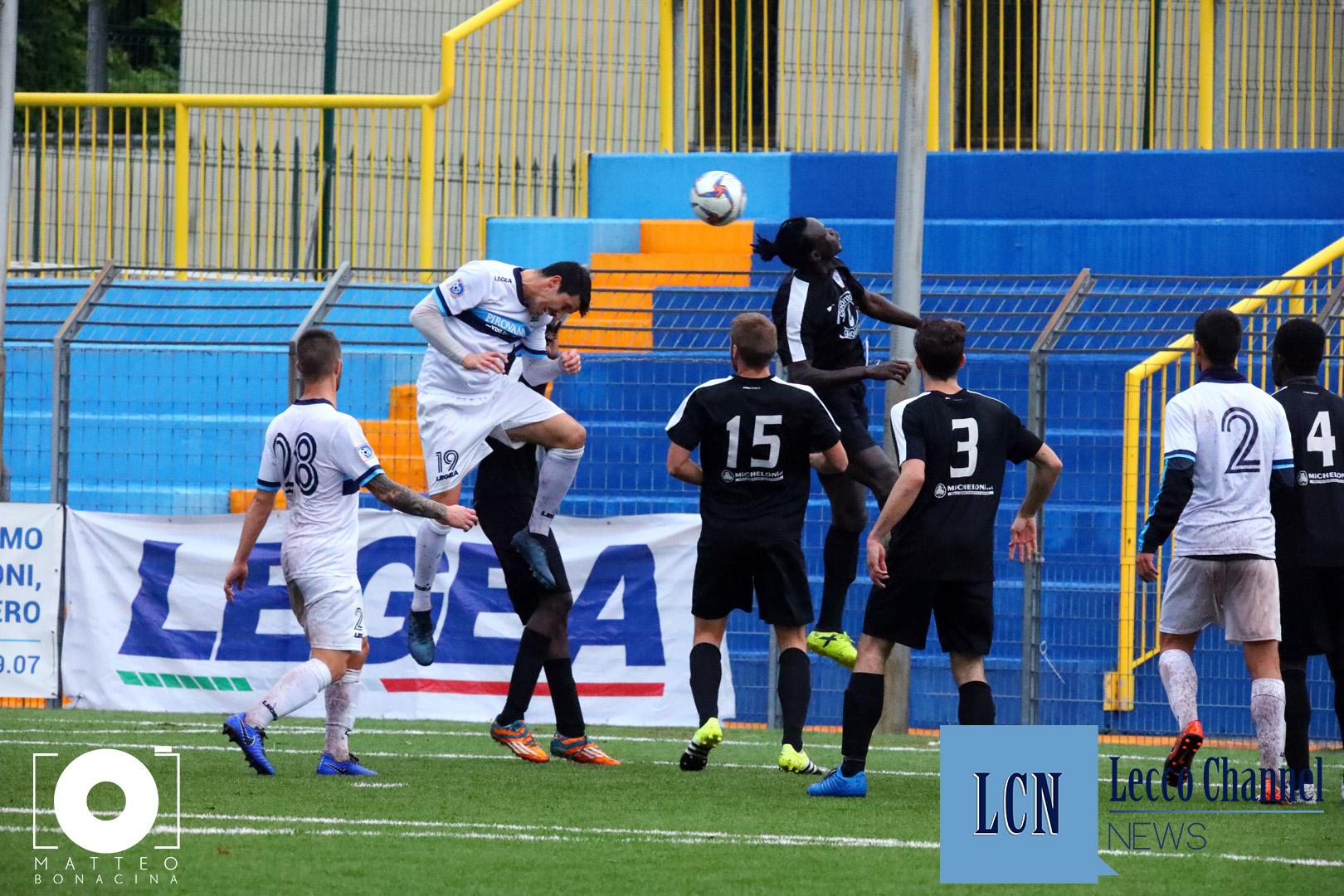 Calcio Lecco Victoria Amichevole 8 Novembre 2018 merli sala (1)
