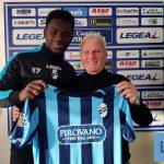 Calcio Lecco, Ibrahima Ba si presenta: «Questa piazza ha fatto la storia»