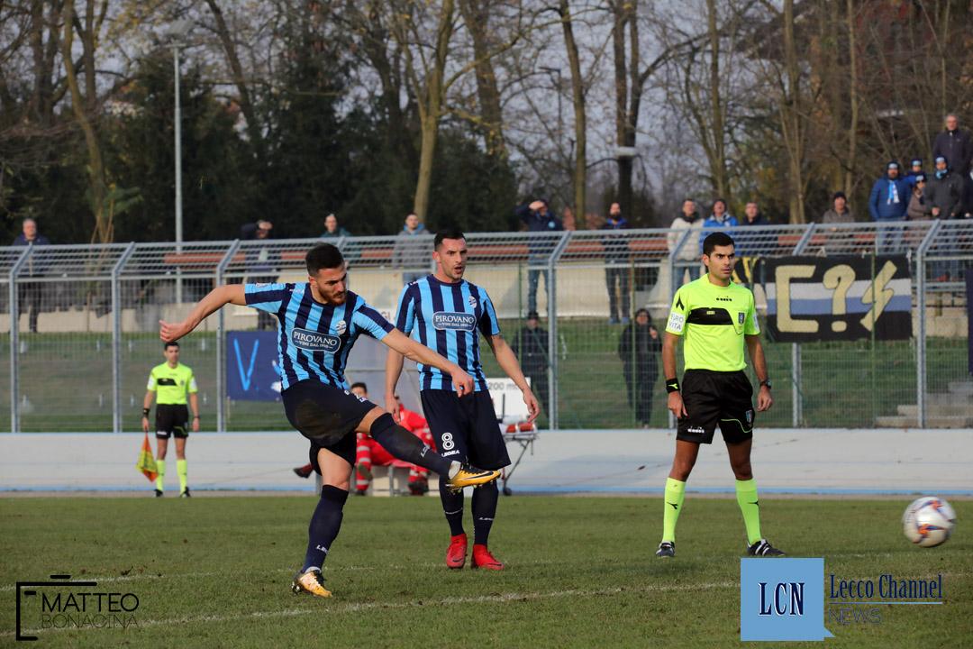 Bustese Milano City Calcio Lecco Serie D Campionato 2 Dicembre 2018 (16) lisai segato