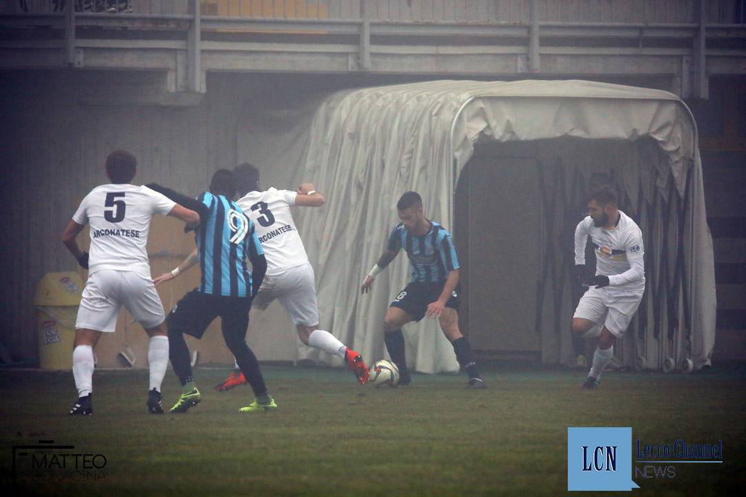 Calcio Lecco Arconatese campionato Serie D 23 Dicembre 2018 (15) moleri