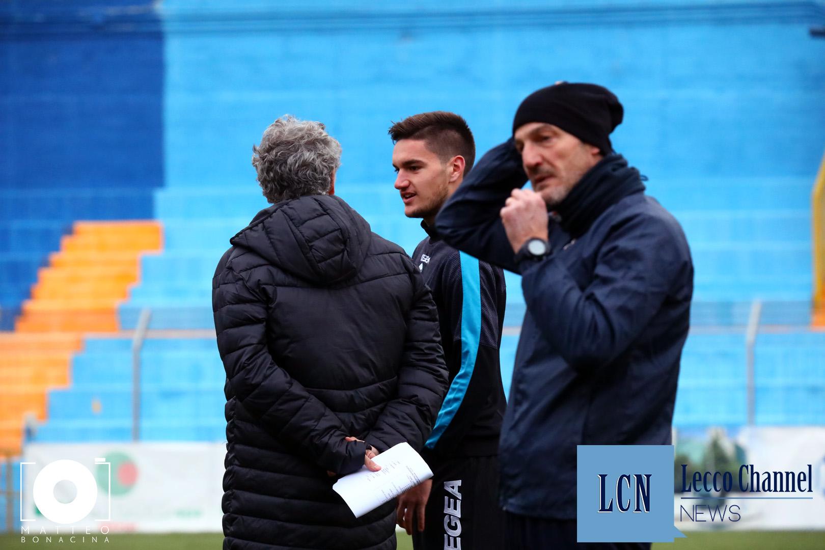 Calcio Lecco Bresso Amichevole 20 Dicembre 2018 Nocerino Gaburro (11)