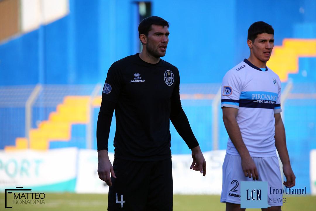 Calcio Lecco Crema Amichevole Serie D 30 Dicembre 2018 (3) davide de angeli nicolò vai