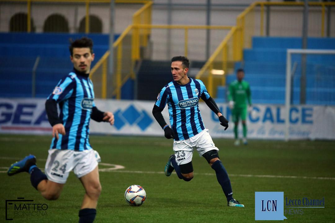 Calcio Lecco Ligorna Campionato Serie D 16 Dicembre 2018 (28) napoli