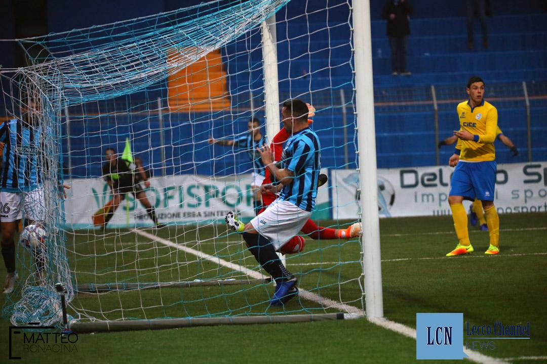 Calcio Lecco Ligorna Campionato Serie D 16 Dicembre 2018 (40) segato gol