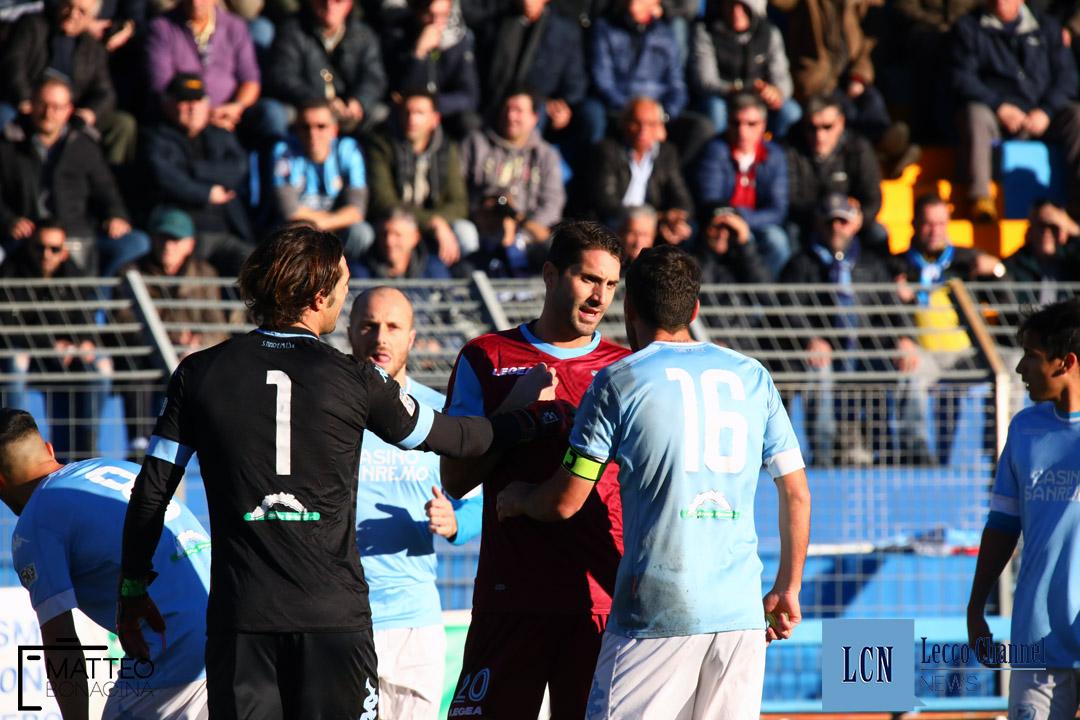 Calcio Lecco Sanremese Campionato Serie D 8 Dicembre 2018 (17) manis capogna
