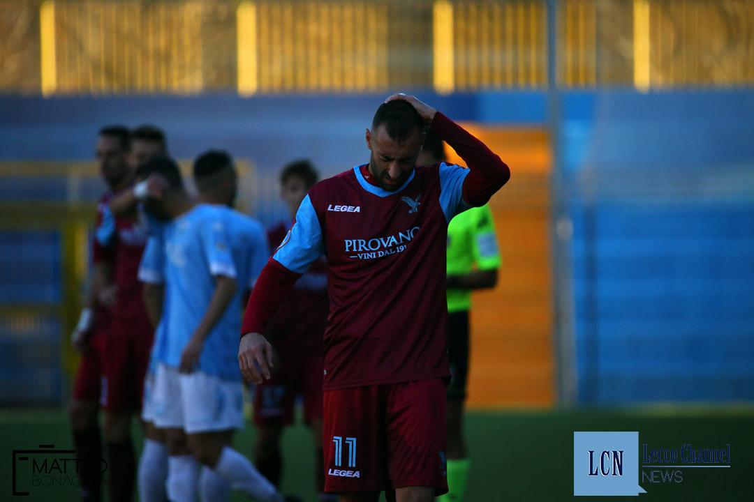 Calcio Lecco Sanremese Campionato Serie D 8 Dicembre 2018 (41) d'anna dolorante