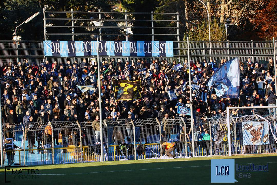 Calcio Lecco Sanremese Campionato Serie D 8 Dicembre 2018 (53) curva nord