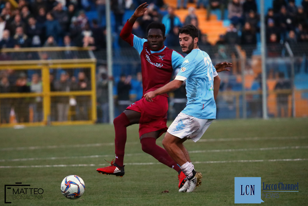 Calcio Lecco Sanremese Campionato Serie D 8 Dicembre 2018 (69) ibrahima ba
