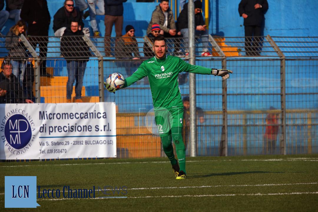 Calcio Lecco Safarikas Casale 20 Gennaio 2019 Serie D Campionato (15)
