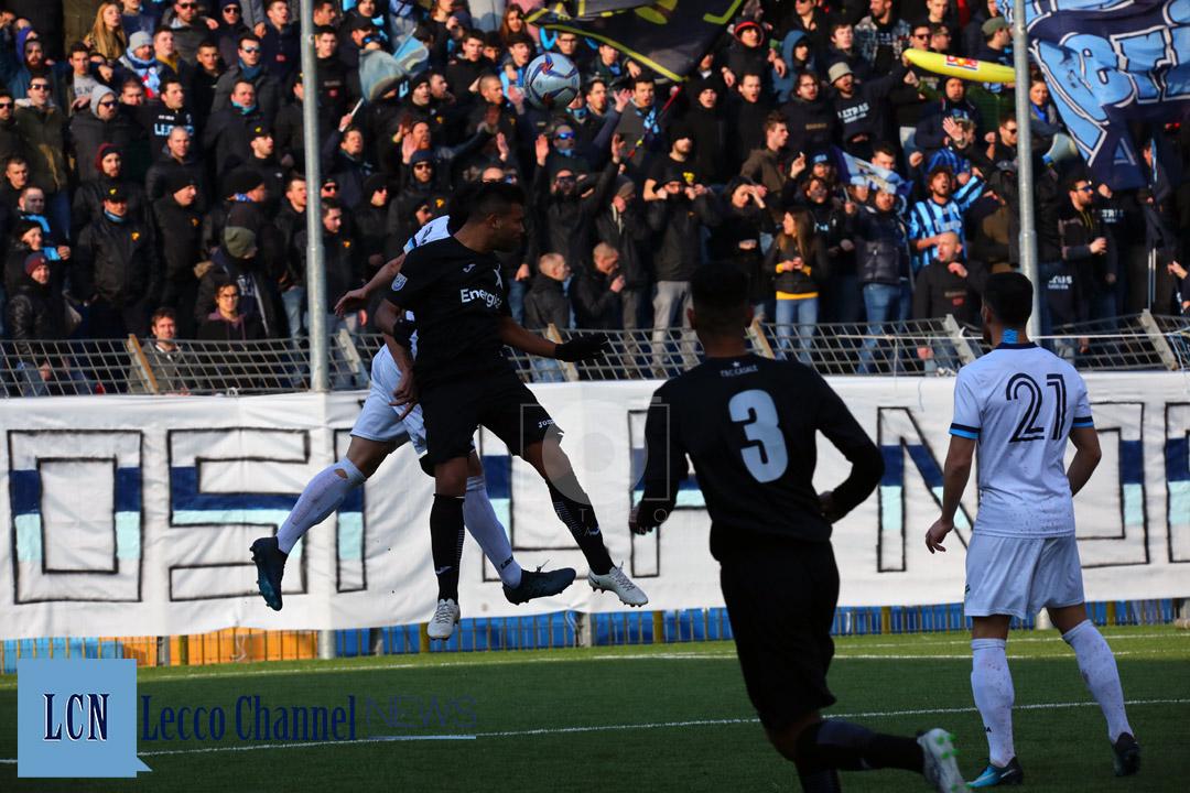Calcio Lecco Cappai Casale 20 Gennaio 2019 Serie D Campionato (17)