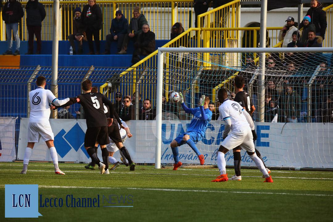 Calcio Lecco gol Malgrati Casale 20 Gennaio 2019 Serie D Campionato (28)