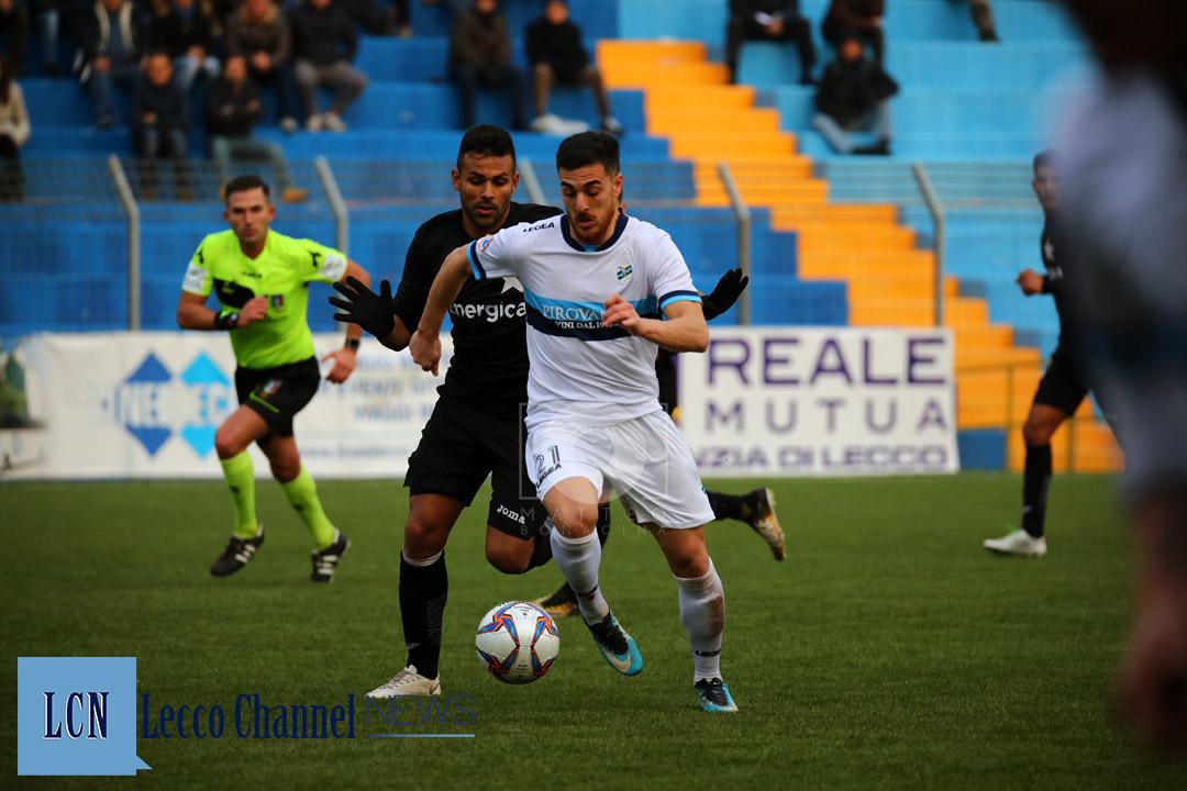 Calcio Lecco Lisai Casale 20 Gennaio 2019 Serie D Campionato (4)