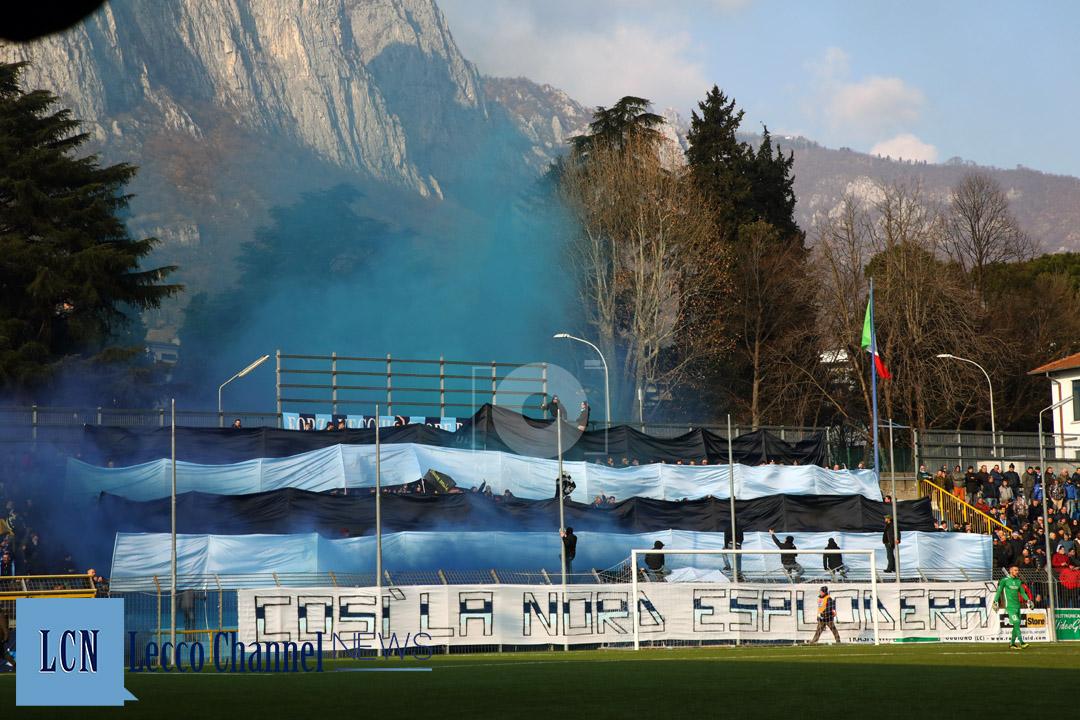 Calcio Lecco Curva Nord Casale 20 Gennaio 2019 Serie D Campionato (5)