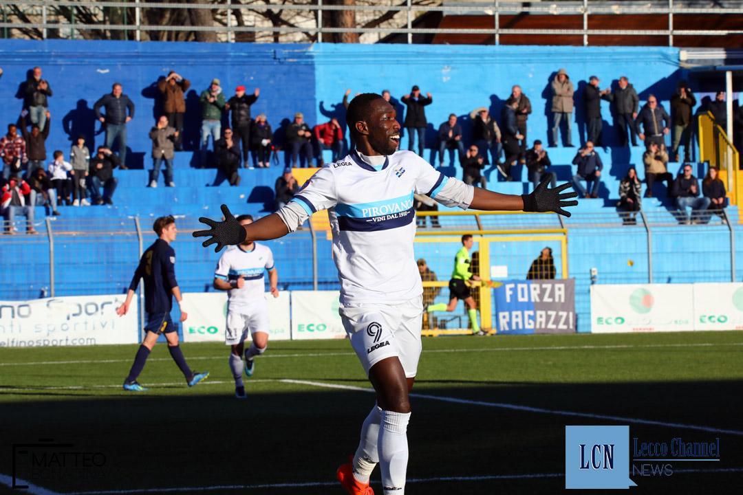 Calcio Lecco Inveruno Campionato Serie D 6 Dicembre 2019 fall esultanza (24)