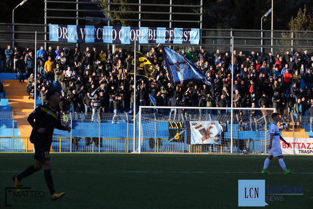 Calcio Lecco Inveruno Campionato Serie D 6 Dicembre 2019 Curva Nord (33)