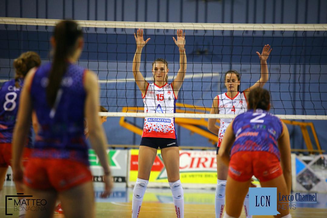 Picco Lecco Volley Parella Torino Campionato Serie B1 5 Gennaio 2018 Badini (14)