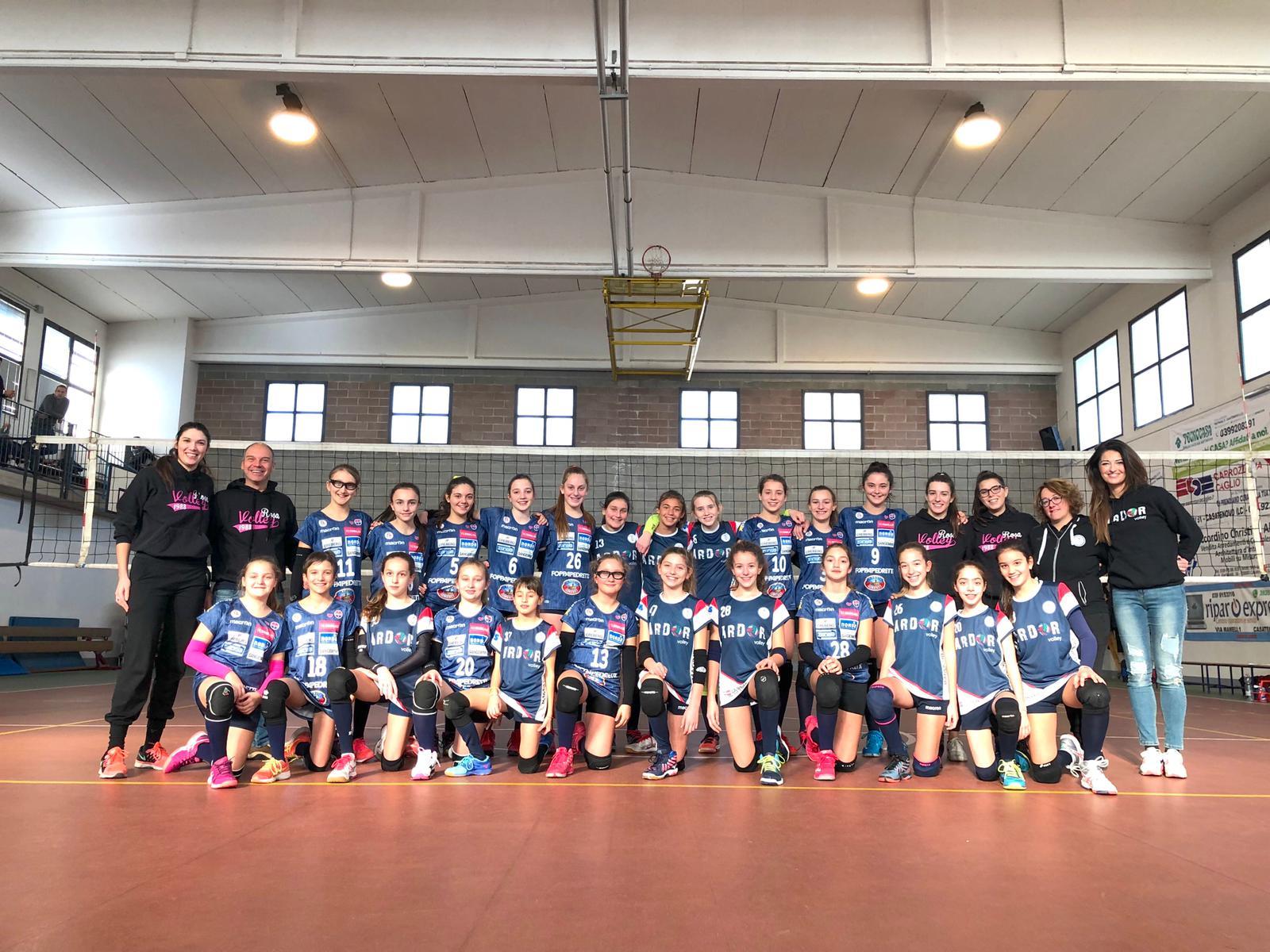 eagle cup 2019 Rosavolley e ardorvolley under13