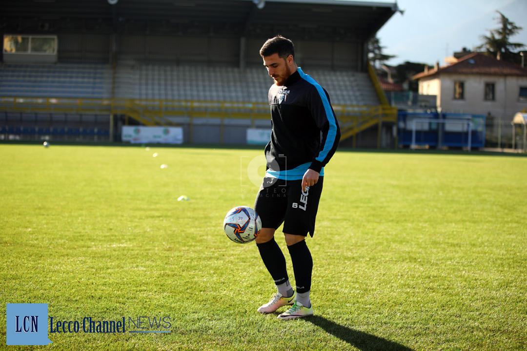 Calcio Lecco Allenamento Stadio 13 Febbraio 2019 Lisai (5)