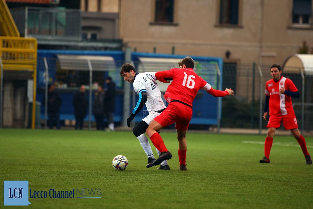 Calcio Lecco Capogna CasateseRogoredo Amichevole 7 Febbraio 2019 Capogna (33)