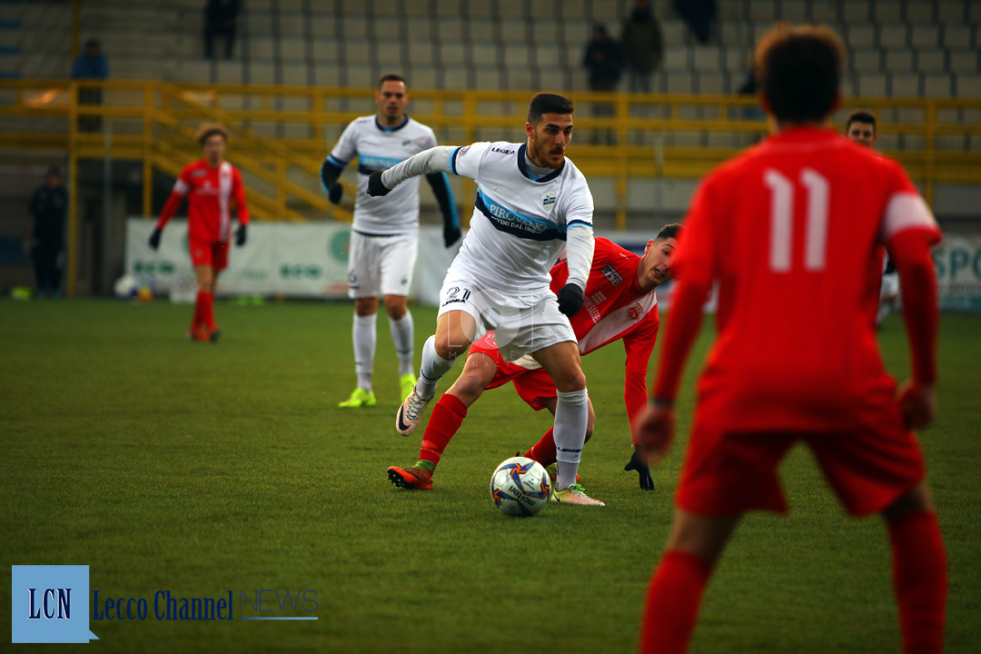 Calcio Lecco Lisai CasateseRogoredo Amichevole 7 Febbraio 2019 Lisai (24)